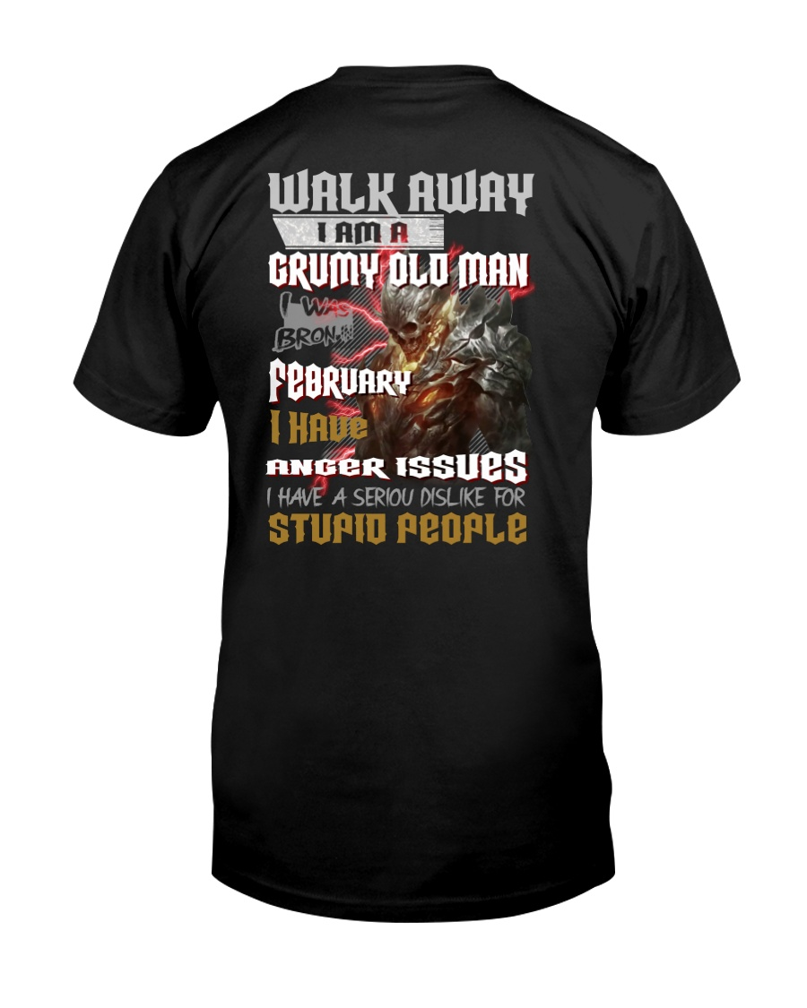 walk away feberuary Classic T-Shirt