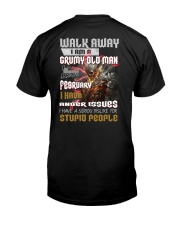 walk away feberuary Classic T-Shirt back