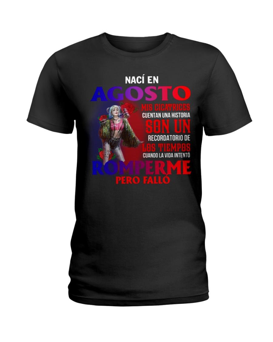 naci en 8 Ladies T-Shirt