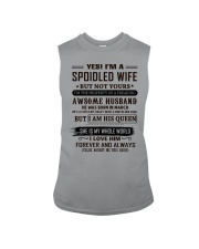 yes i'm a spoiled wife march Sleeveless Tee thumbnail
