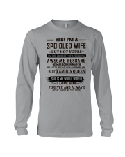yes i'm a spoiled wife march Long Sleeve Tee thumbnail