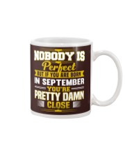 september nobody is perfect Mug thumbnail