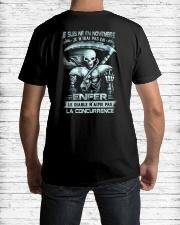novembre skull enfer Classic T-Shirt lifestyle-mens-crewneck-back-1