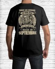 septiembre todos los hombres Classic T-Shirt lifestyle-mens-crewneck-back-1