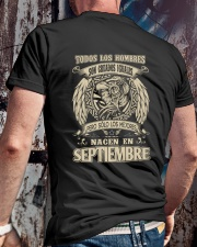 septiembre todos los hombres Classic T-Shirt lifestyle-mens-crewneck-back-2