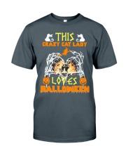 this crazy cat Classic T-Shirt thumbnail