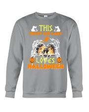 this crazy cat Crewneck Sweatshirt thumbnail