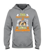 this crazy cat Hooded Sweatshirt thumbnail