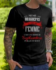 folle et sexy 9 Classic T-Shirt lifestyle-mens-crewneck-front-7