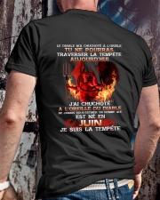 je suis la tempete juin Classic T-Shirt lifestyle-mens-crewneck-back-2