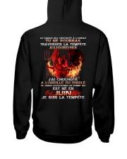 je suis la tempete juin Hooded Sweatshirt thumbnail