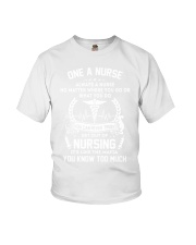 one a nurse Youth T-Shirt tile