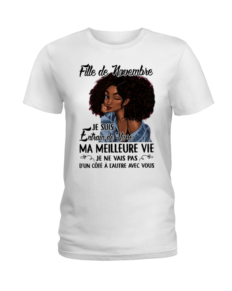novembre meilleure Ladies T-Shirt