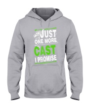 just one more cast i promise Hooded Sweatshirt thumbnail