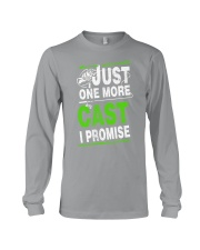 just one more cast i promise Long Sleeve Tee thumbnail