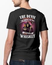 the devil whis Classic T-Shirt lifestyle-mens-crewneck-back-5