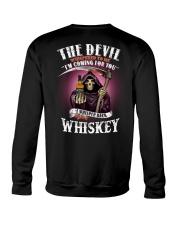 the devil whis Crewneck Sweatshirt thumbnail