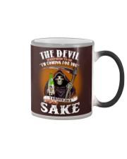 the devil whis Color Changing Mug thumbnail