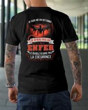 octobre je n'irai pas en enfer Classic T-Shirt lifestyle-mens-crewneck-back-3