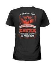 octobre je n'irai pas en enfer Ladies T-Shirt thumbnail