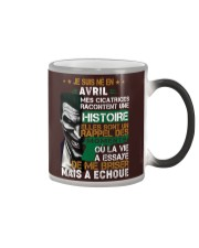 mes cicatrices racontent une histoire avril Color Changing Mug thumbnail