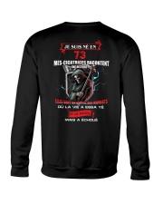 je suis ne en 73 Crewneck Sweatshirt thumbnail