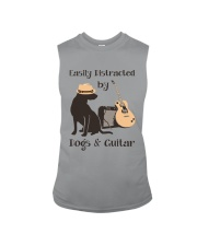 easilly distracted dogs and guitar Sleeveless Tee thumbnail