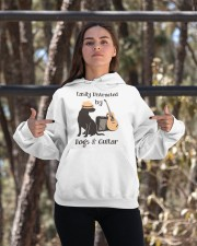 easilly distracted dogs and guitar Hooded Sweatshirt apparel-hooded-sweatshirt-lifestyle-05