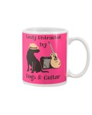 easilly distracted dogs and guitar Mug thumbnail