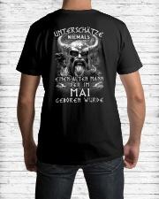 mai niemals Classic T-Shirt lifestyle-mens-crewneck-back-1