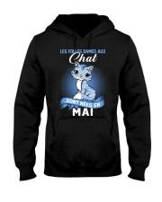 chat mai Hooded Sweatshirt thumbnail