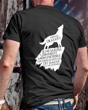 mars mon histoire Classic T-Shirt lifestyle-mens-crewneck-back-2