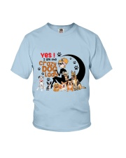 crazy dog Youth T-Shirt thumbnail