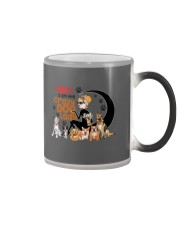 crazy dog Color Changing Mug thumbnail