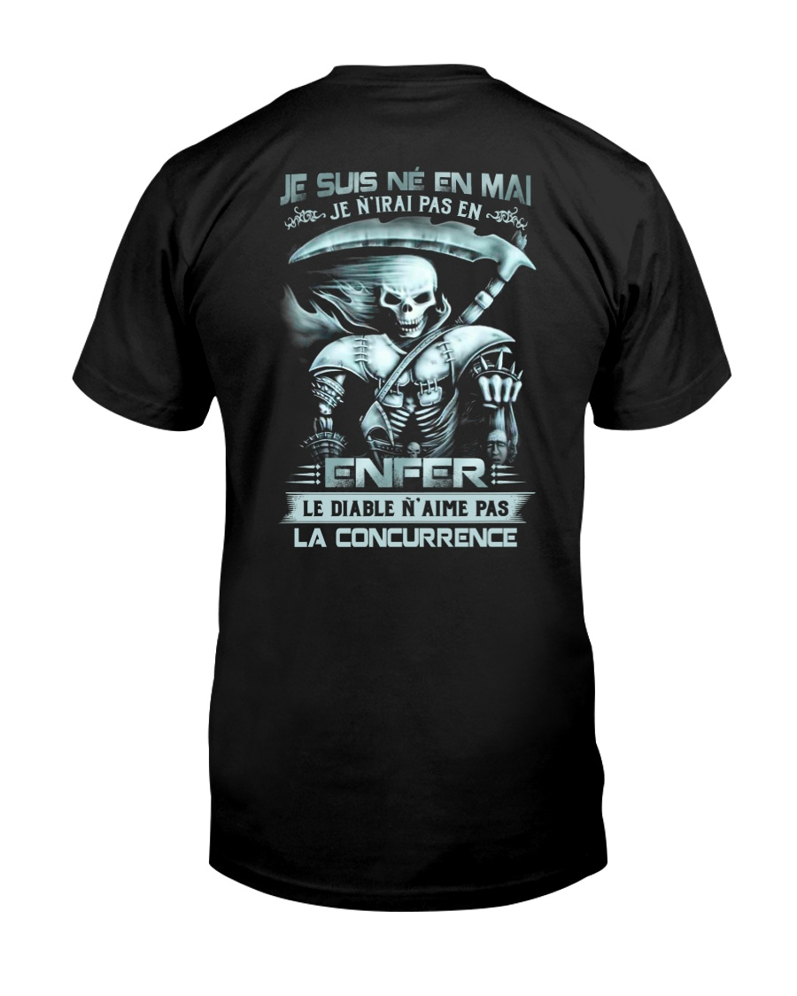 mai skull enfer Classic T-Shirt