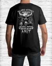 aout jamais Classic T-Shirt lifestyle-mens-crewneck-back-1