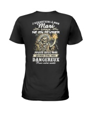 fevrier mari epoux Ladies T-Shirt back