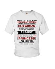 princess 8b Youth T-Shirt front