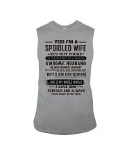 yes i'm a spoiled wife january Sleeveless Tee thumbnail