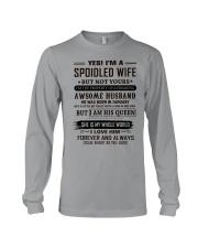 yes i'm a spoiled wife january Long Sleeve Tee thumbnail