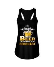 beer2 Ladies Flowy Tank thumbnail