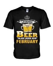 beer2 V-Neck T-Shirt thumbnail