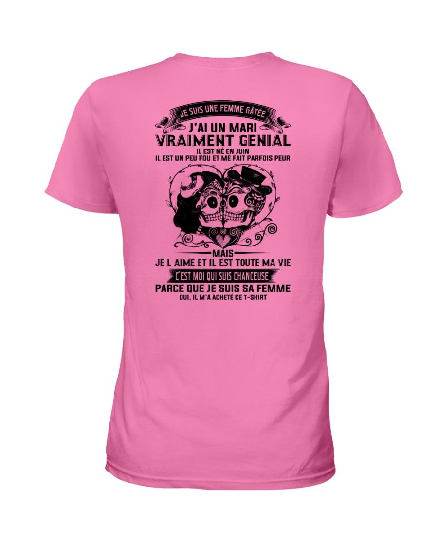 IL EST NE EN 6 Ladies T-Shirt