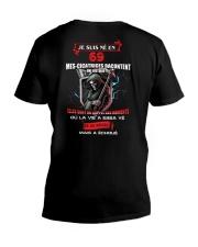 je suis ne en 69 V-Neck T-Shirt thumbnail