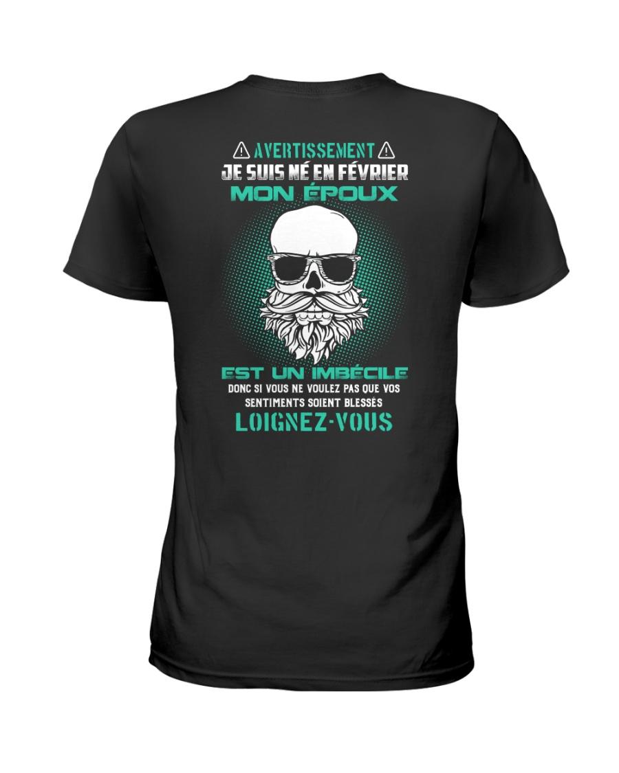 fevrier mon epoux Ladies T-Shirt
