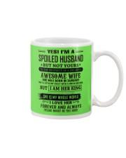 yes i'm a spoiled husband january Mug thumbnail