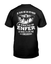 fevrier enfer Classic T-Shirt back