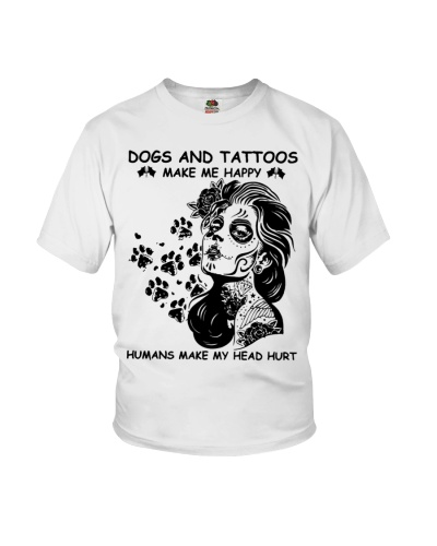 dogs and tattoosmakeme happy