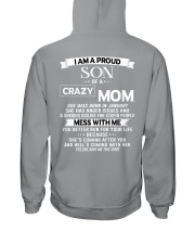crazy mom january Hooded Sweatshirt tile
