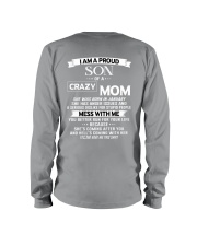 crazy mom january Long Sleeve Tee thumbnail